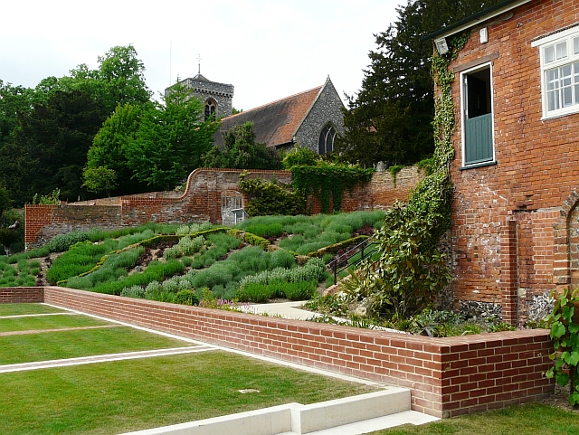 Gallery Garden and St. Peter's Church