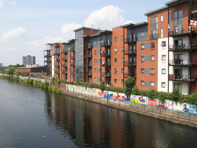 Irwell-side apartments