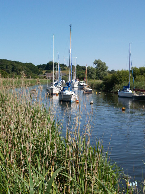 Boats on the River Frome
