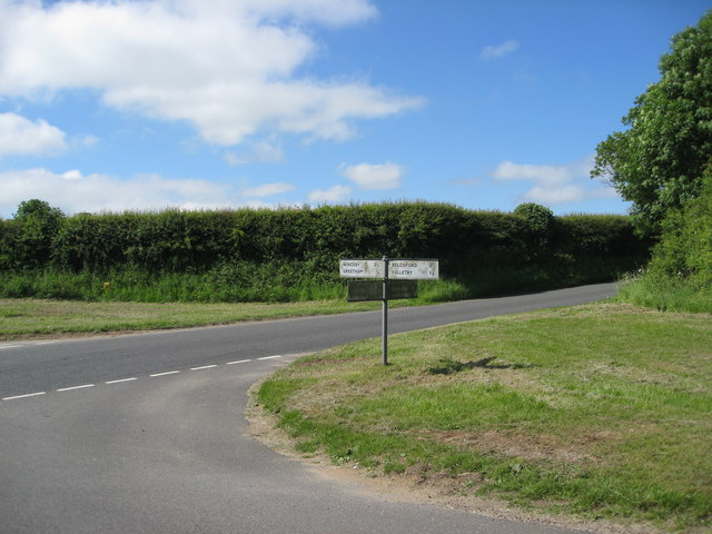 Crossroads outside Greetham