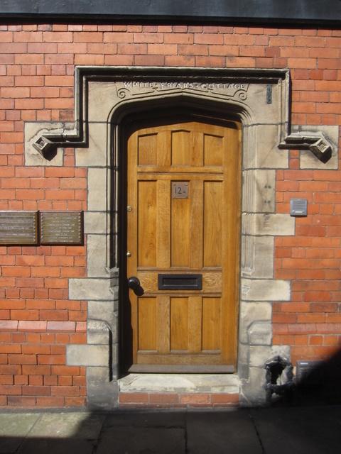 Doorway to White Friars Cottage