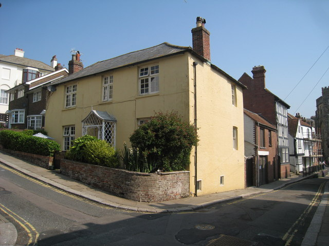 Yellow House on Exmouth Place