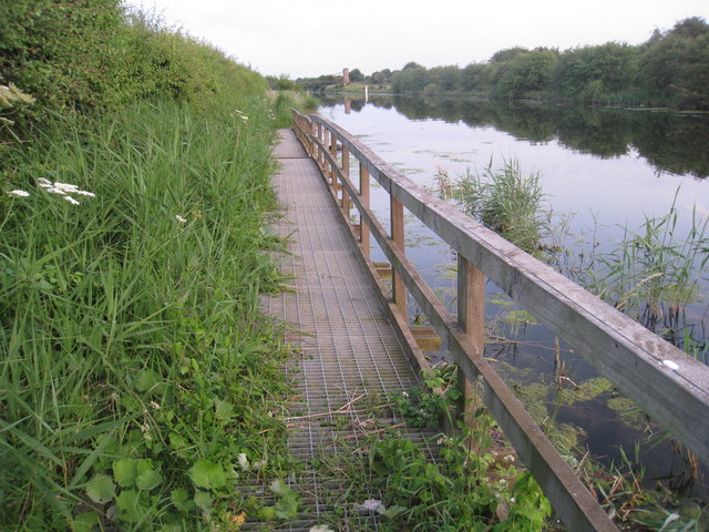 Footpath by the River Ancholme