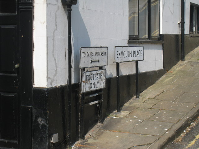 Exmouth Place Sign