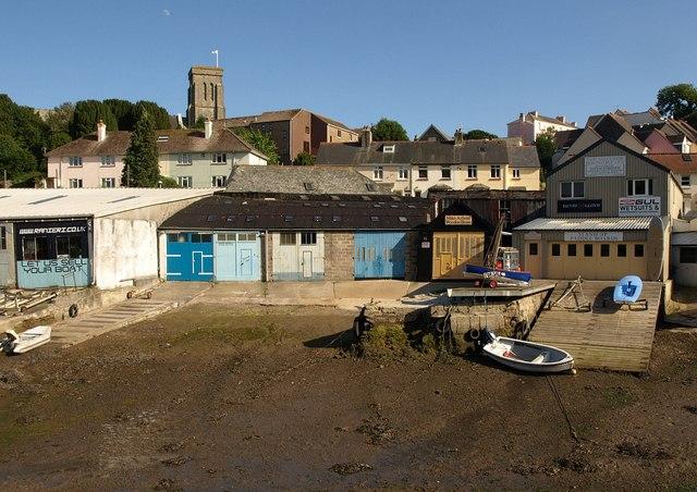 Boatyards, Salcombe