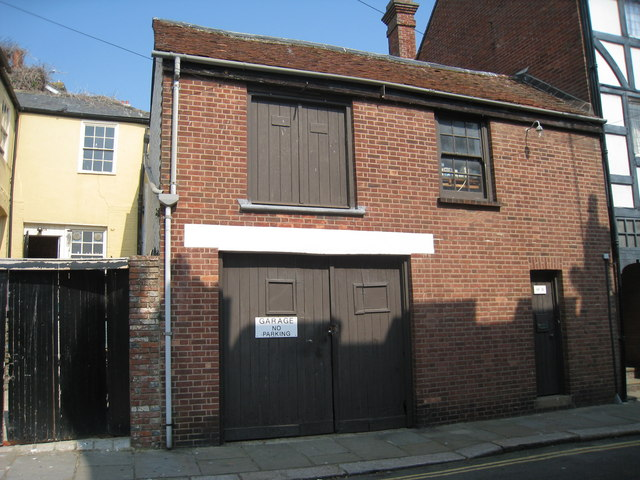 Garage on Hill Street