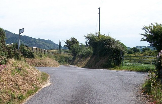The crossroads from the west