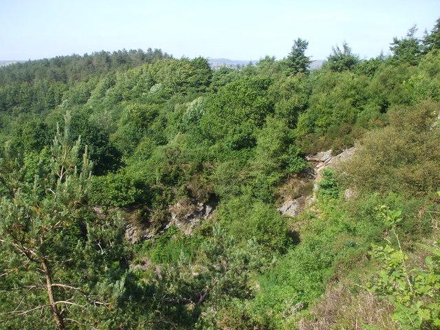 Disused quarry, Caerphilly Common