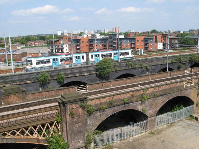 Metrolink viaduct