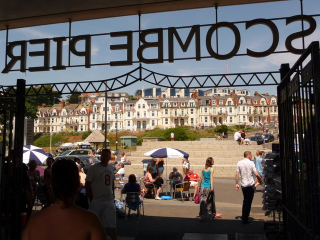 Boscombe: leaving the pier