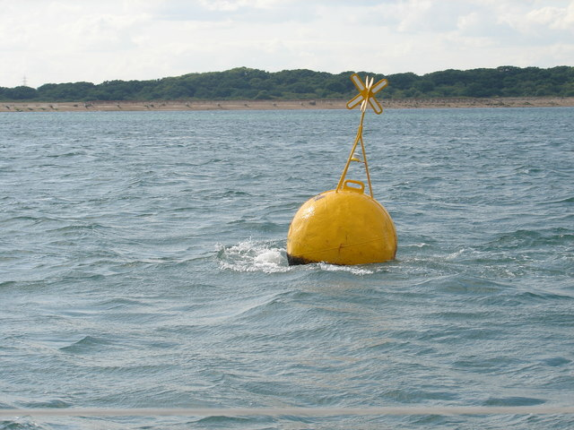 Racing Buoy off Stansore Point