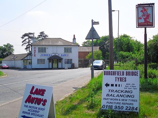 Judge's Cafe, Burghfield Bridge