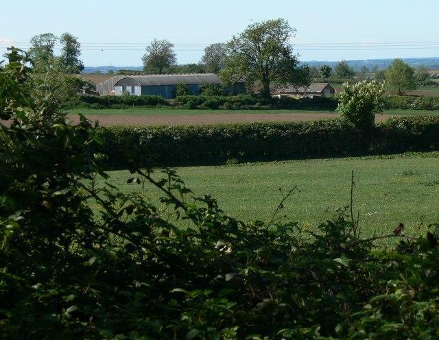 Farm buildings near Leire, Leicestershire