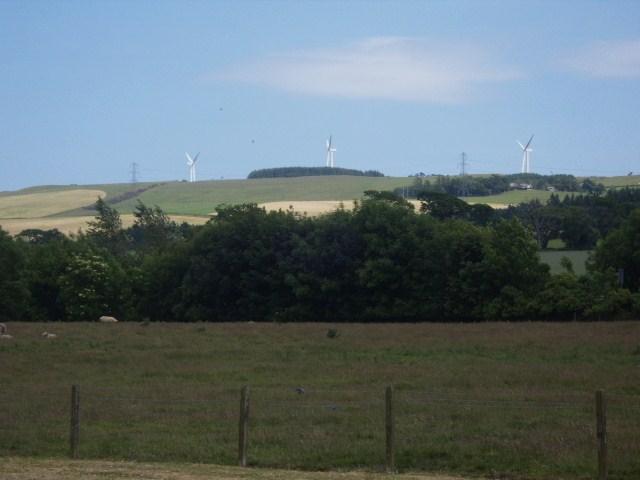 Garvock Hill Wind Farm Near Laurencekirk