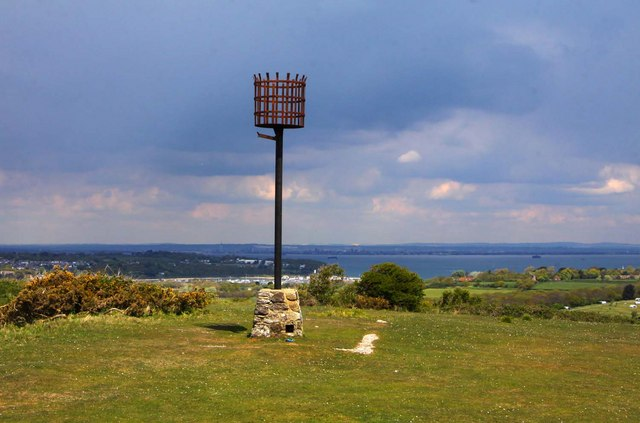 The beacon at Culver Battery