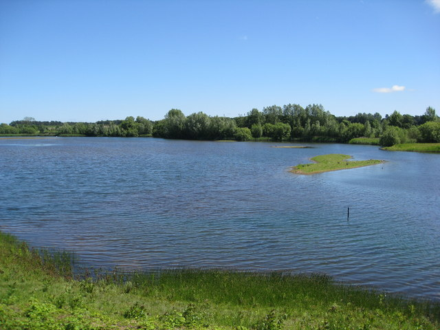 Nature Reserve view from bird hide