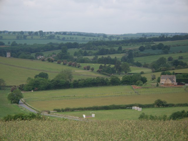 View from Harford Hill