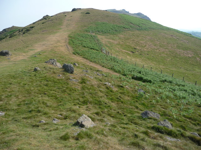 Caer Caradoc from Three Fingers Rock