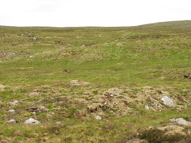 West side of Meall a' Mheanbh-chruidh