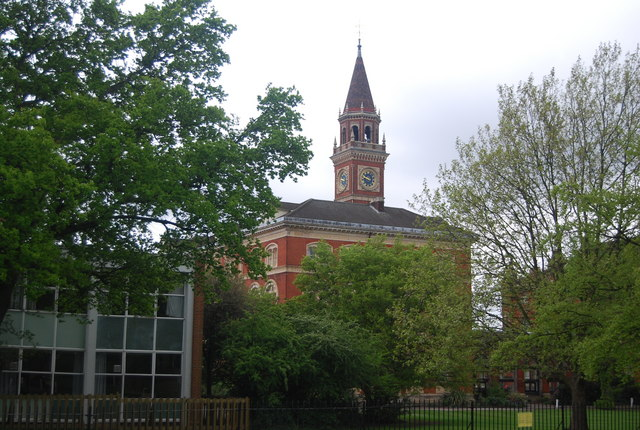Dulwich College: clock tower