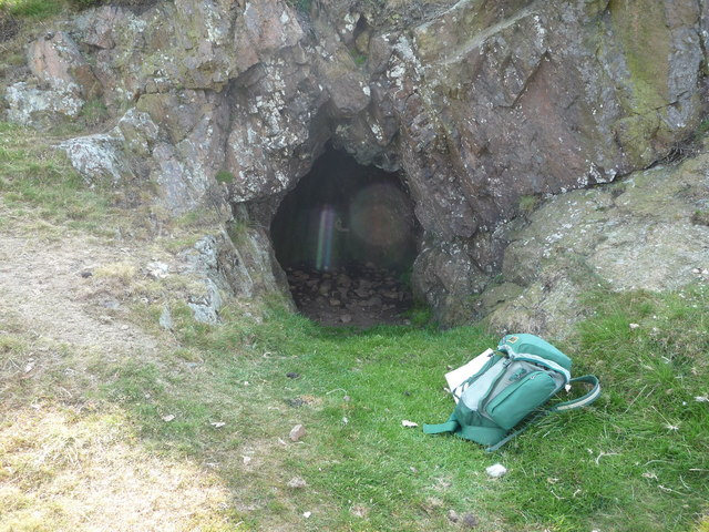 The cave on Caer Caradoc