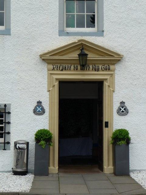 Doorway to Barony Castle
