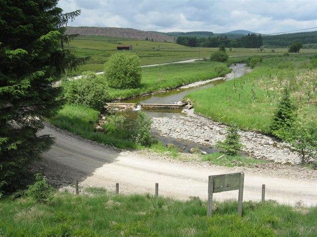 Weir on Garwald Water
