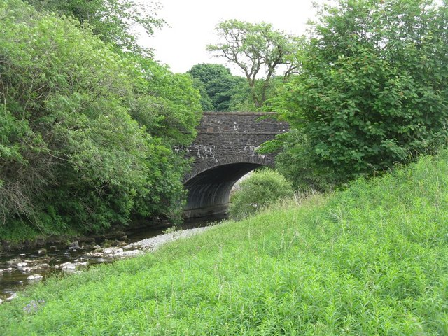 Bridge at Garwaldwaterfoot