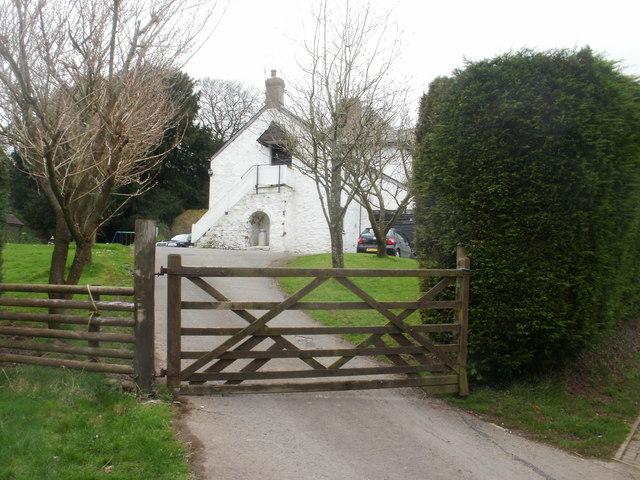 Entrance to Lodge Farm, Caerleon