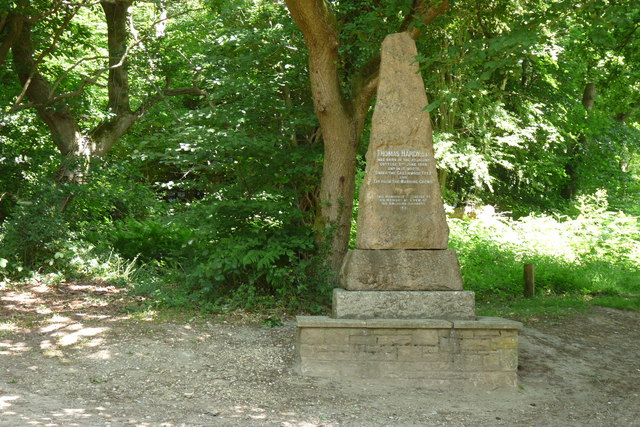 Monument to Thomas Hardy, Higher Bockhampton, Dorset