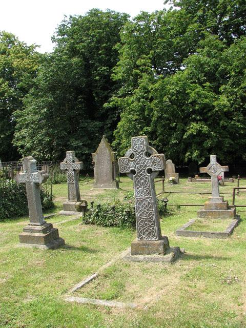 St Mary Magdalene's church in Pentney - churchyard