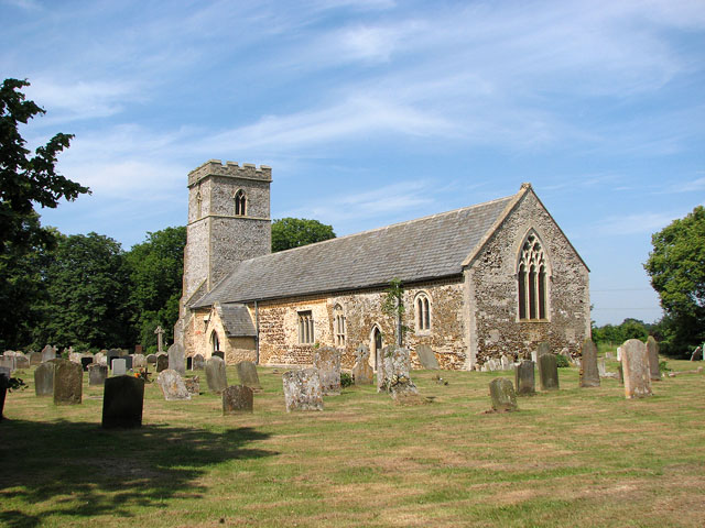 St Mary Magdalene's church in Pentney