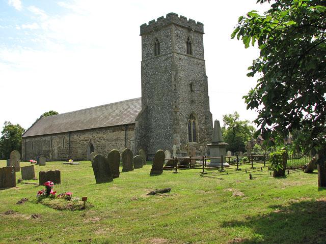 St Mary Magdalene's church in Pentney