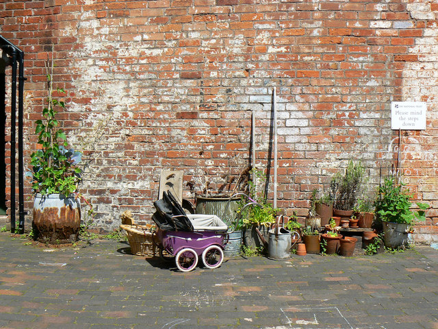 Back yard, Court 15, Inge Street, Birmingham (11)