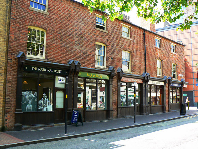 The Birmingham back-to-backs, Hurst Street, Birmingham (1)