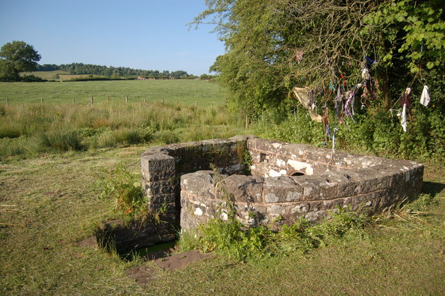 The Virtuous Well (formerly St Anne's Well) in Trellech