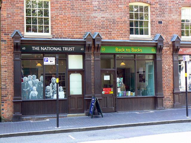 The Birmingham back-to-backs, Hurst Street, Birmingham (2)