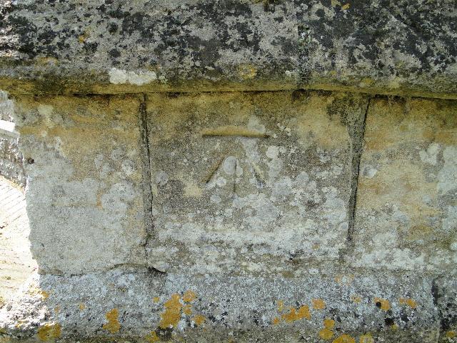 Benchmark at Congham church