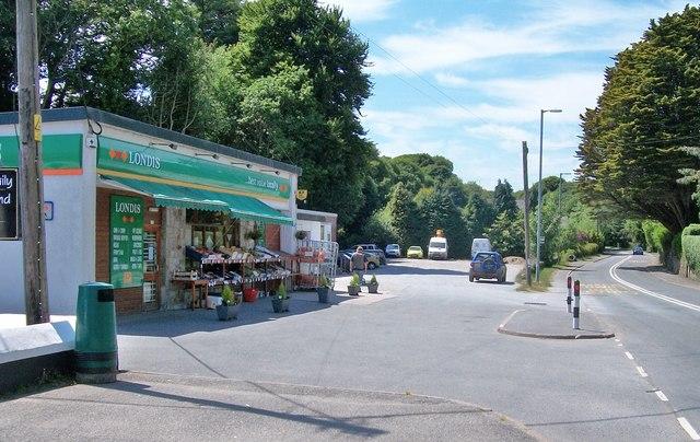 Londis Store on the A499 at Glyn y Weddw, Llanbedrog
