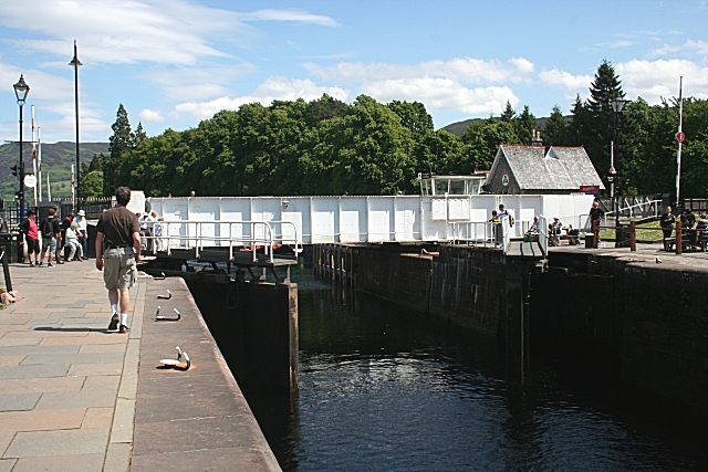 Opening the Lock Gate