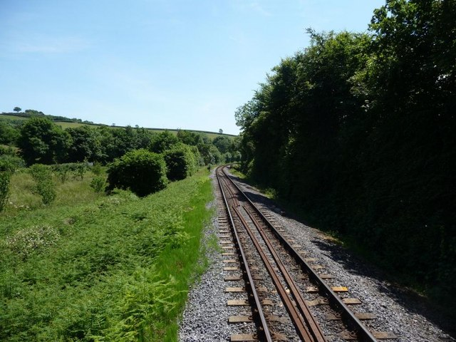 The line to Totnes