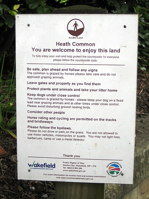 Heath conservation village - Information