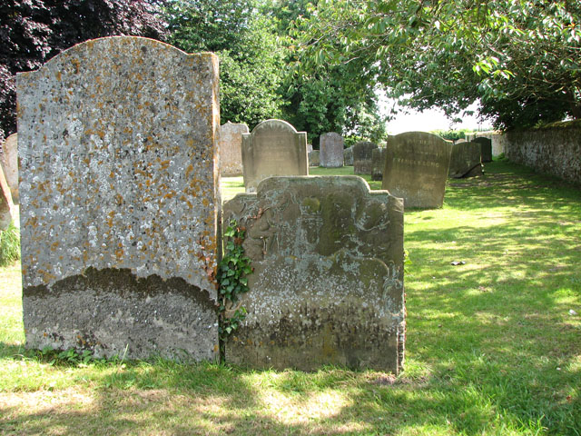 St Botolph's church in Grimston - churchyard