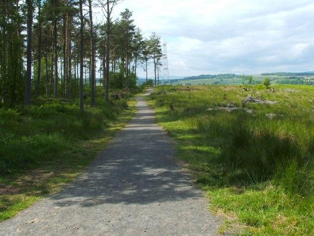 Footpath to Cuthelton and Mydub