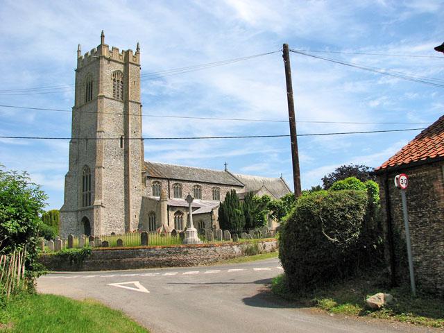 St Botolph's church in Grimston