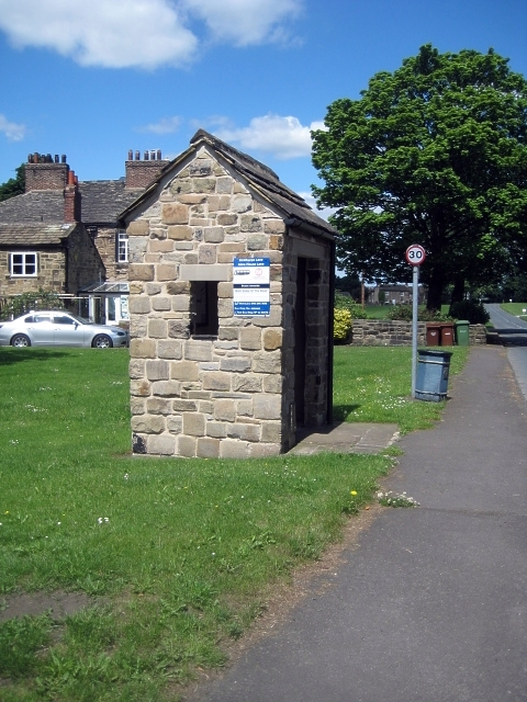Heath conservation village - Bus shelter