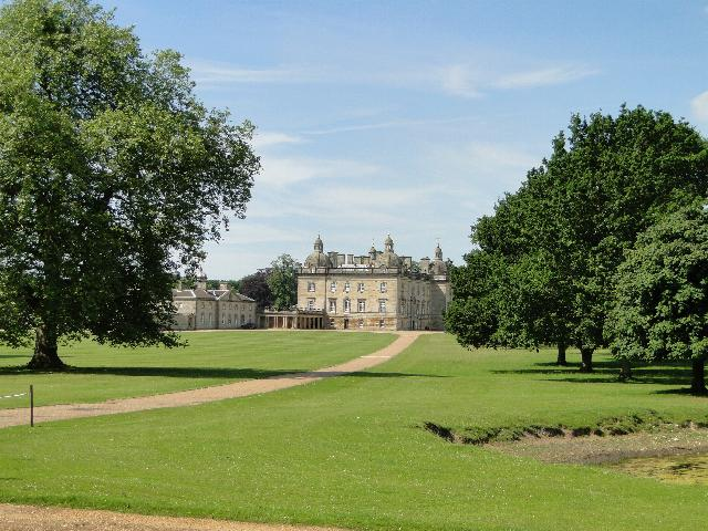 The back of Houghton Hall, Norfolk