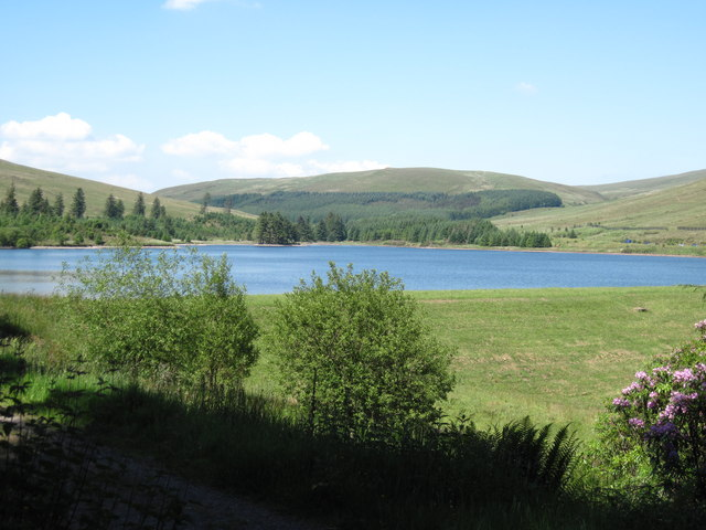 Beacons Reservoir from the Taff Trail