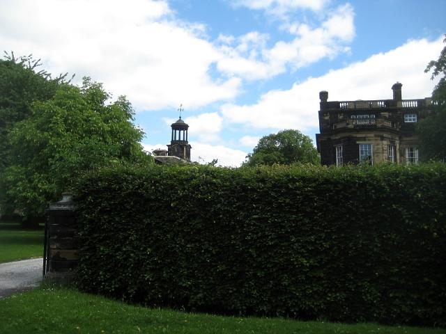 Heath conservation village - The West Pavilion, Heath Hall