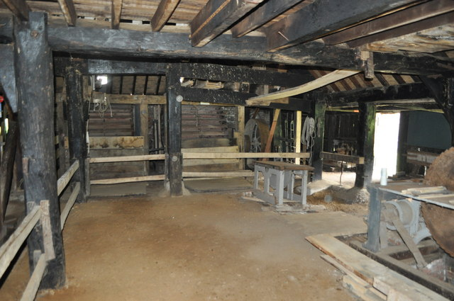 Inside Gunton Saw Mill